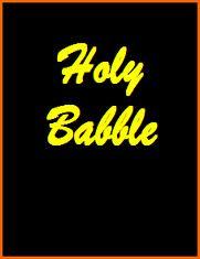 holy-babble