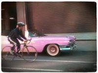 pink-cadillac-and-bicycle